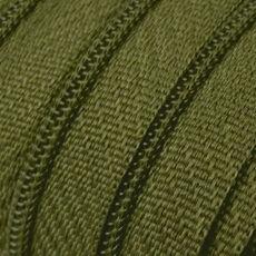 Endlosreißverschluss - 3 mm Laufschiene - olivgrün