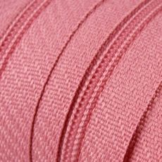 Endlosreißverschluss - 3 mm Laufschiene - rosa
