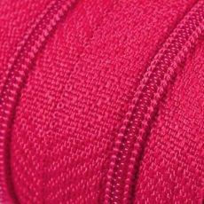 Endlosreißverschluss - 3 mm Laufschiene - magenta