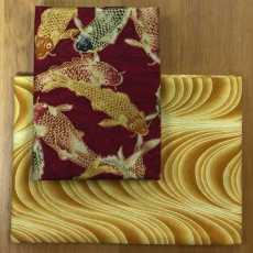 2 Fat Quarter - GoldKarpfen