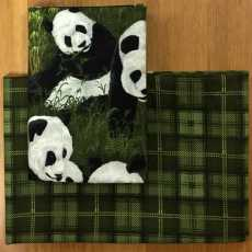 2 Fat Quarter - PandaGarten