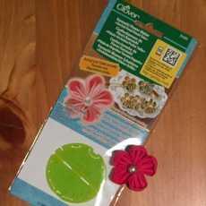 Kanzashi Blumen Schablone - Orchidee, klein