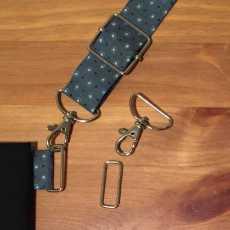 Set zur Befestigung von verstellbaren Taschenriemen - 30 mm