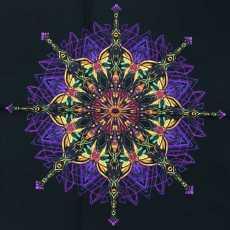 1 Stoffstück - KismetBlume lila