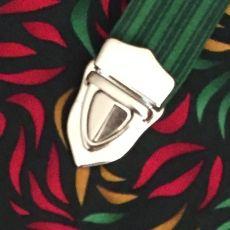 Steckschloss - silberfarben - 3,0 cm