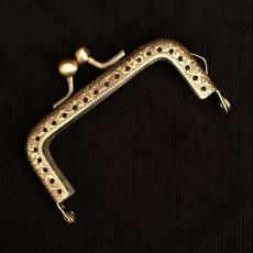 Taschenbügel - bronzefarben -  7,5 cm