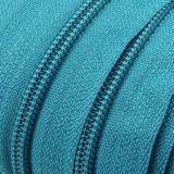 Endlosreißverschluss - 3 mm Laufschiene - türkisblau