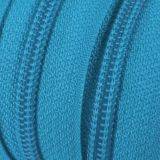 Endlosreißverschluss - 3 mm Laufschiene - blau